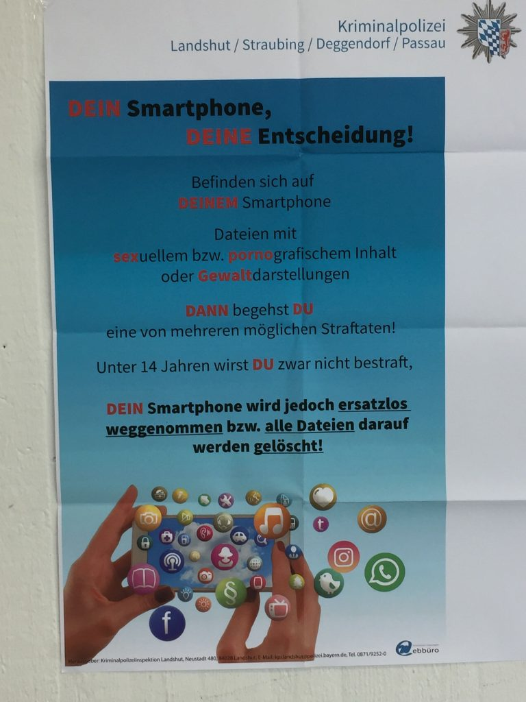 Smartphone Medienpädagogik