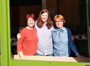 v.l.n.r.: Frau Zapf, Frau Preljvukaj, Frau Koch